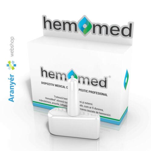 hemomed kiroterápiás aranyér kezelő eszköz